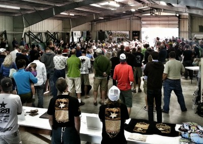 100 Mile Pre-Race Meeting in Two Harbors - Photo Credit Erik Lindstrom