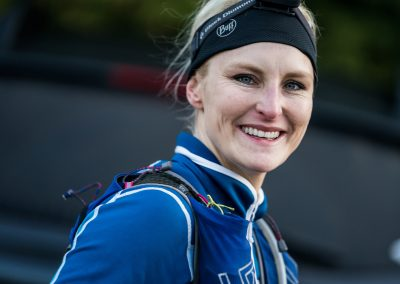 2017 100 Mile Winner Gretchen Metsa All Smiles - Photo Credit Ian Corless