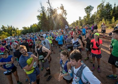 2018 Moose Mountain Marathon Race Start - Photo Credit Tone Coughlin