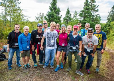 2019 Split Rock Aid Station Crew - Photo Credit Tone Coughlin