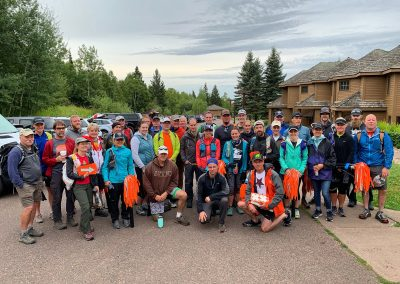 2019 Trail Marking Crew - Photo Credit Cheri Storkamp