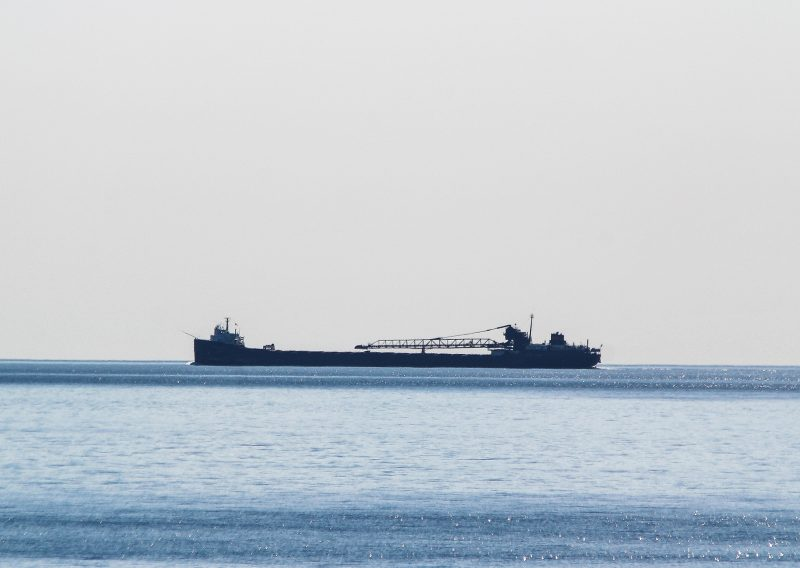 A Distant Ship on Lake Superior - Photo Credit Dan LaPlante