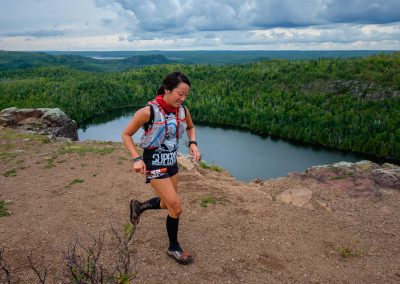 Alex Eichman Above Bean Lake - Photo Credit Kent Keeler