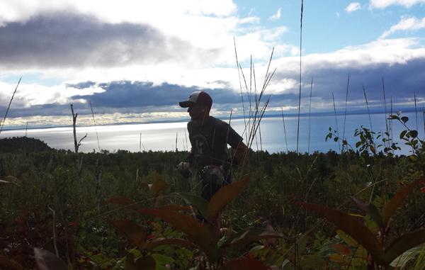 Brian Klug Over Lake Superior Photo Credit John Storkamp 600px