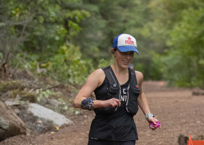 Colleen Enrote to the 50 Mile Win in 2019 - Photo Credit Dan LaPlante