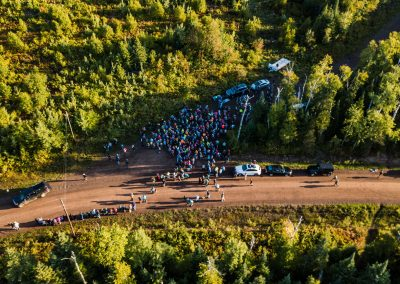 Cramer Road Marathon Start From Above - Photo Credit Fresh Tracks Media