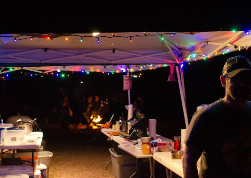 Crosby Manitou Aid Station is a Festive Place - Photo Credit Todd Rowe