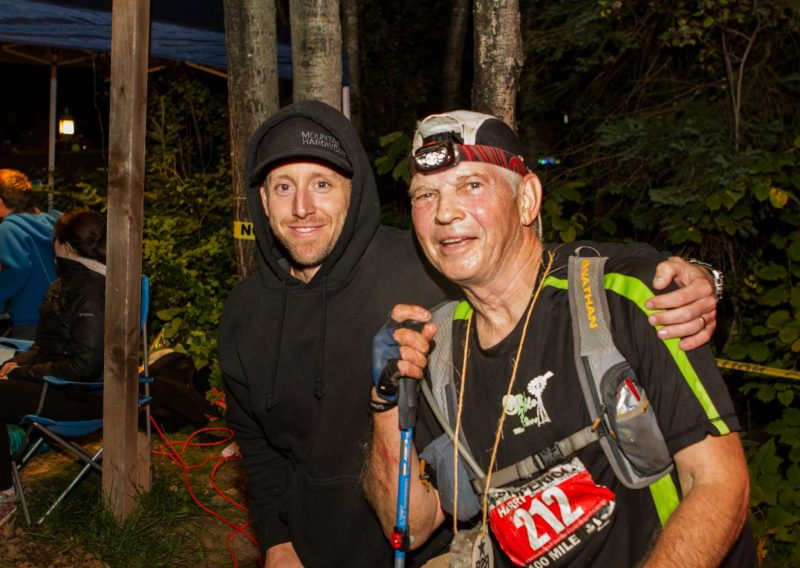 Current RD John Storkamp with Race Founder Harry Sloan - Photo Credit Scott Hudson
