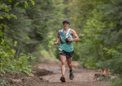 Emma Spoon for the Marathon Win in 2019 - Photo Credit Dan LaPlante