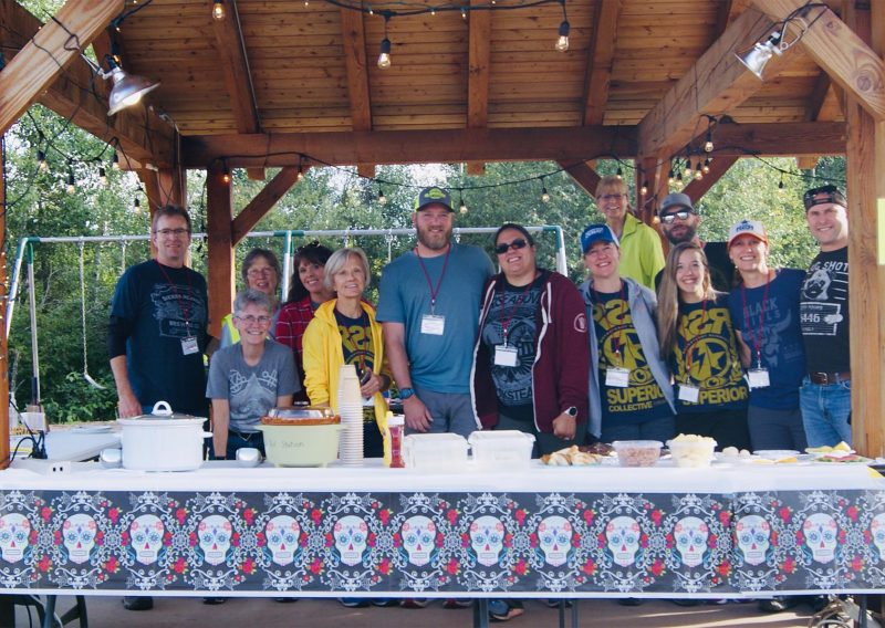Finland Aid Station Volunteers 2019 - Photo Credit Dawn Long