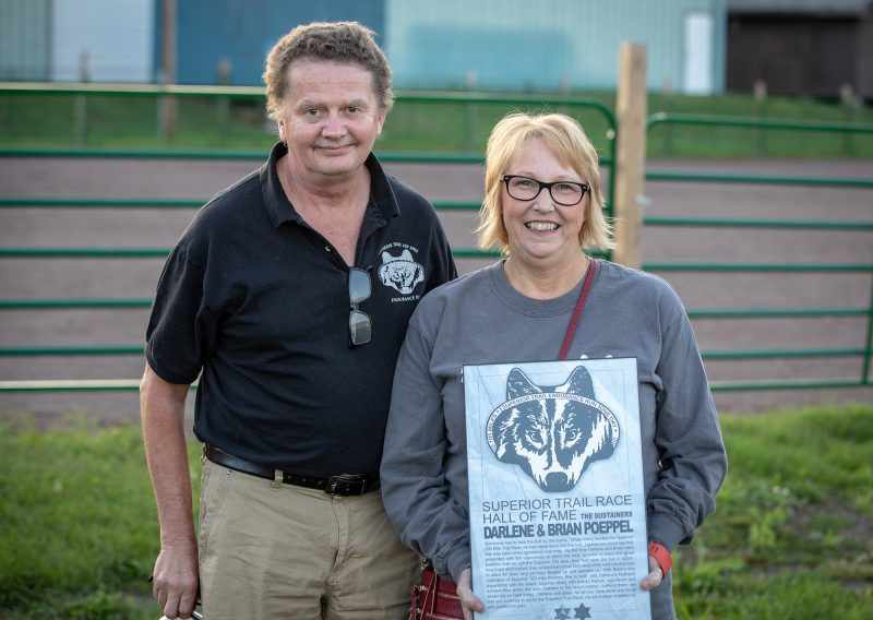 Former Race Directors Darlene and Brian Poeppel - Photo Credit Tone Coughlin