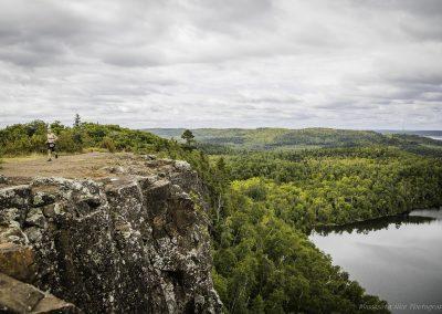 Jeff Miller Above Bean Lake - Photo Credit Charles Haupert
