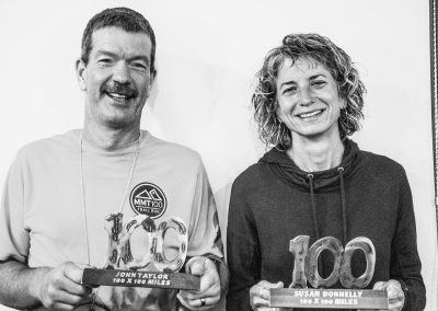 John Taylor and Susan Donnelly Run Their 100th 100 at Superior 2017 - Photo Credit Fresh Tracks Media