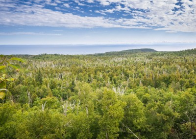 Lake Superior as Seen From the Trail - Photo Credit Zach Pierce