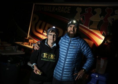 MN Ultra Guru Kurt Decker and His Mum at Oberg AS - Photo Credit Ian Corless