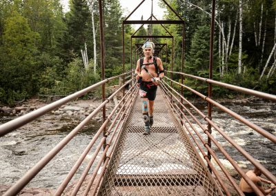 Mike Mccarl Baptisim High Falls Suspension Bridge - Photo Credit Ian Corless