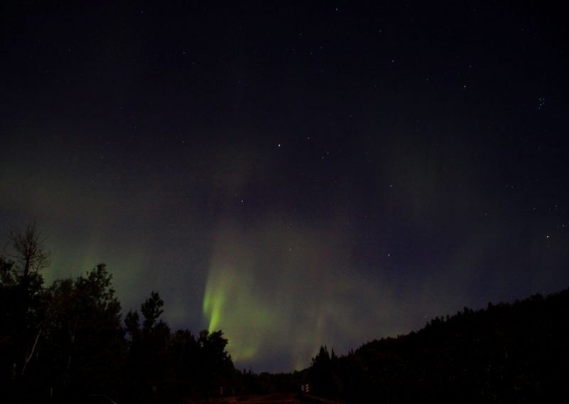 Northern Lights in 2011 - Photo Credit Joi Electa