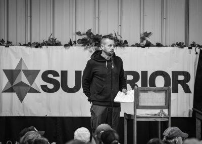 Race Director John Storkamp at the 100 Mile Pre Race - Photo Credit David Markman