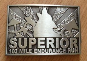Superior 100 Finishers Buckle - Photo Credit John Storkamp