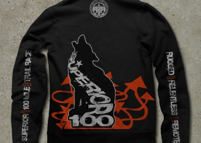 The Superior 100 Finishers Sweatshirt - Artwork John Storkamp