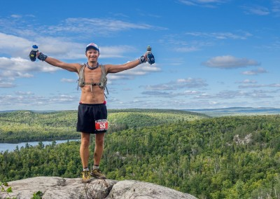 Troy Fuestel on Top of the World - Photo Credit Zach Pierce